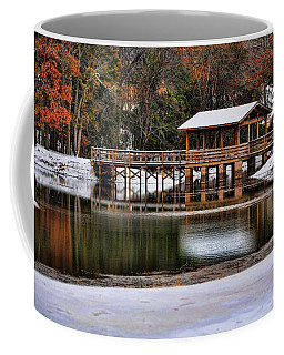 Snowy Bridge Coffee Mug