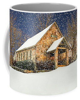 Snowy Cloudland Presbyterian Church  Coffee Mug