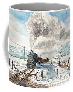 Snowy Crossing Coffee Mug