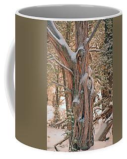 Snowy Dead Tree Coffee Mug