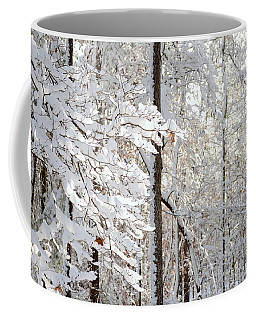Snowy Dogwood Bloom Coffee Mug