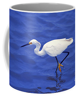 Coffee Mug featuring the photograph Snowy Egret 1 by Bill Holkham