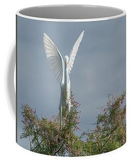 Snowy Egret 6844-100517-2 Coffee Mug
