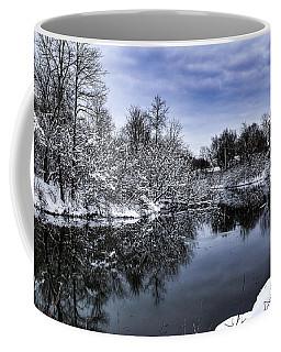 Snowy Ellicott Creek Coffee Mug