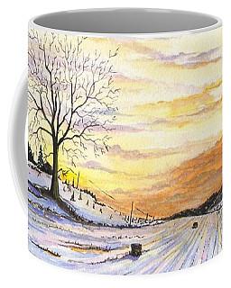 Snowy Farm Coffee Mug