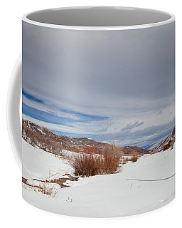 Snowy Field Coffee Mug by Sean Allen
