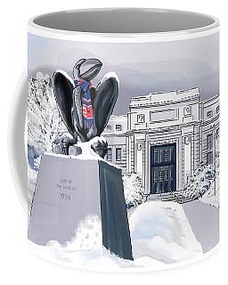 Snowy 'hawk Coffee Mug
