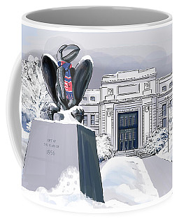 Snowy 'hawk Coffee Mug