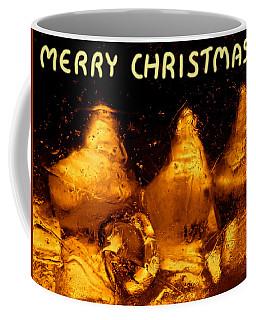 Snowy Ice Bottles - Christmas Greetings Coffee Mug