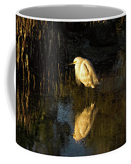 Snowy Kissed By Last Light Coffee Mug