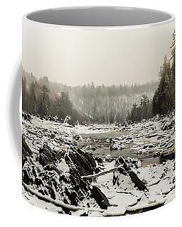 Snowy Morning At Jay Cooke Coffee Mug