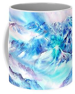 Snowy Mountains Early Morning Coffee Mug