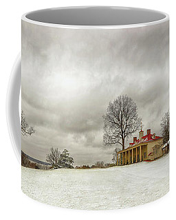 Snowy Mt Vernon Coffee Mug