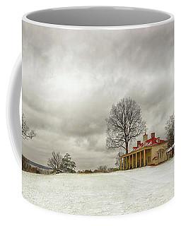 Snowy Mt Vernon Coffee Mug