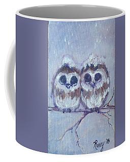 Snowy Owl Chicks Coffee Mug