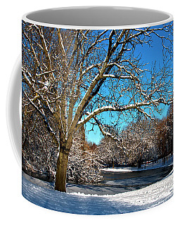 Snowy Pond Coffee Mug