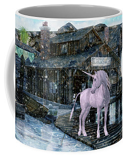 Snowy Unicorn Coffee Mug