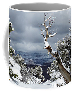 Snowy View Coffee Mug by Laurel Powell
