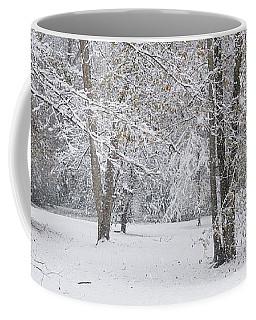 Snowy Winter Forest Coffee Mug