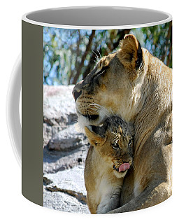 Coffee Mug featuring the photograph Snuggles by Howard Bagley