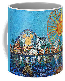 Coffee Mug featuring the painting So Cal Adventure by Amelie Simmons