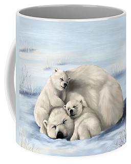 Coffee Mug featuring the painting So Much Love by Veronica Minozzi