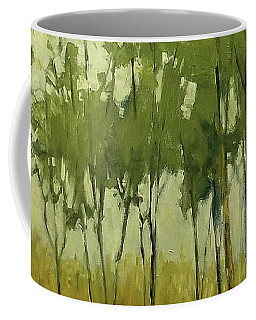 So Tall Tree Forest Landscape Painting Coffee Mug