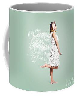 Soap Suds Pin Up Girl Coffee Mug