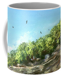 Soaring Above The North Rim Coffee Mug