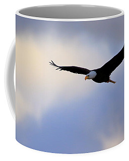 Soaring Bald Eagle Coffee Mug