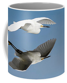Soaring Over Still Waters Coffee Mug
