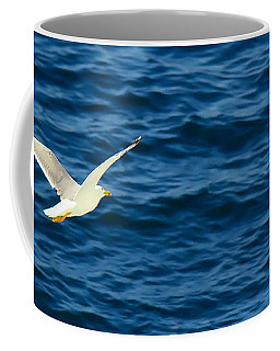 Soaring Over The Mediterranean Coffee Mug