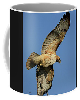 Soaring Red-tailed Hawk Coffee Mug