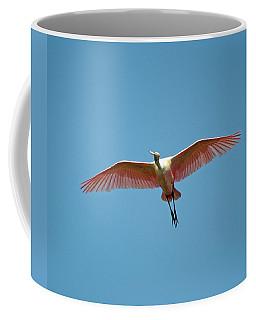 Soaring Roseate Spoonbill Coffee Mug