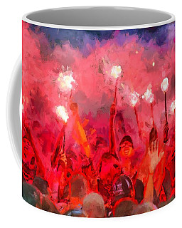Soccer Fans Pictures Coffee Mug