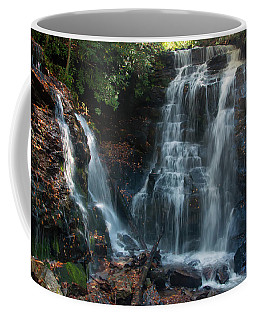 Coffee Mug featuring the photograph Soco Waterfalls  by Chris Flees