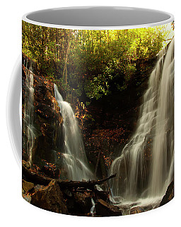 Coffee Mug featuring the photograph Soco Waterfalls From Spillway by Chris Flees