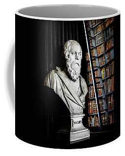 Socrates A Writer Of Knowledge Coffee Mug