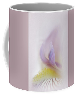 Coffee Mug featuring the photograph Soft And Delicate Iris by David and Carol Kelly