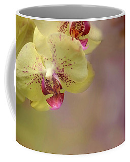 Coffee Mug featuring the photograph Soft And Sweet by Ann Bridges