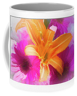 Soft Day Lily Coffee Mug