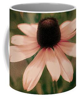 Soft Delicate Pink Daisy Coffee Mug by Judy Palkimas