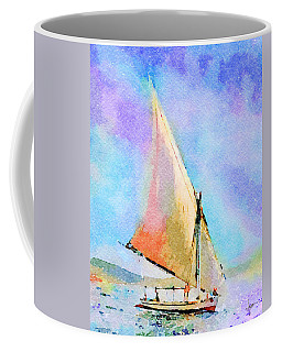 Soft Evening Sail Coffee Mug