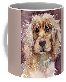 Soft Eyes Coffee Mug by Judith Levins