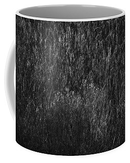 Soft Grass Black And White Coffee Mug