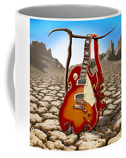 Soft Guitar II Coffee Mug