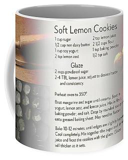 Soft Lemon Cookie Recipe Coffee Mug