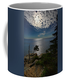 Soft Light On Otter Point Coffee Mug
