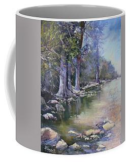 Soft Light On The Pedernales Coffee Mug