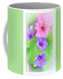Soft Petunias Coffee Mug